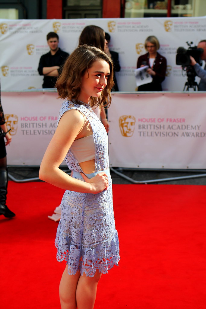 BAFTA Red Carpet 2015 (24)