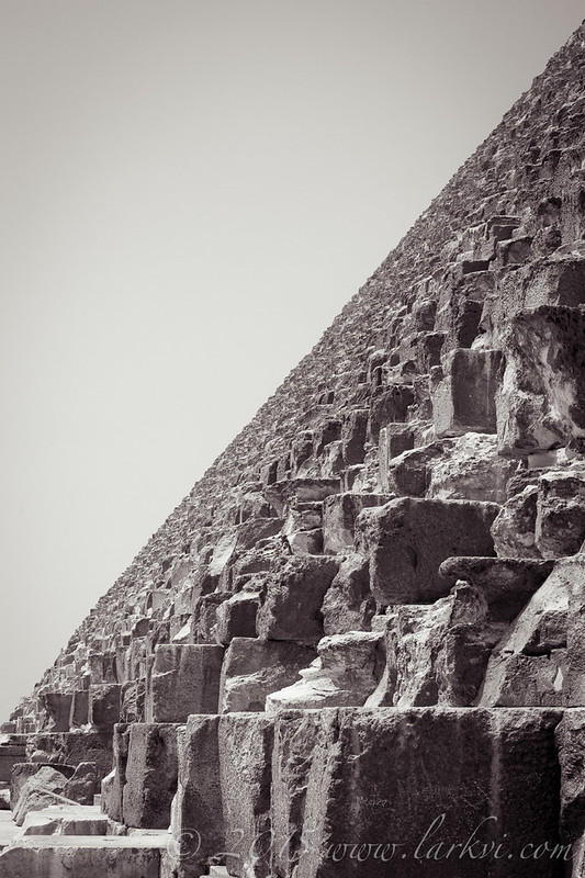 Stone Blocks, Giza, Egypt 2015