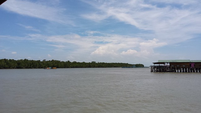 view from jetty