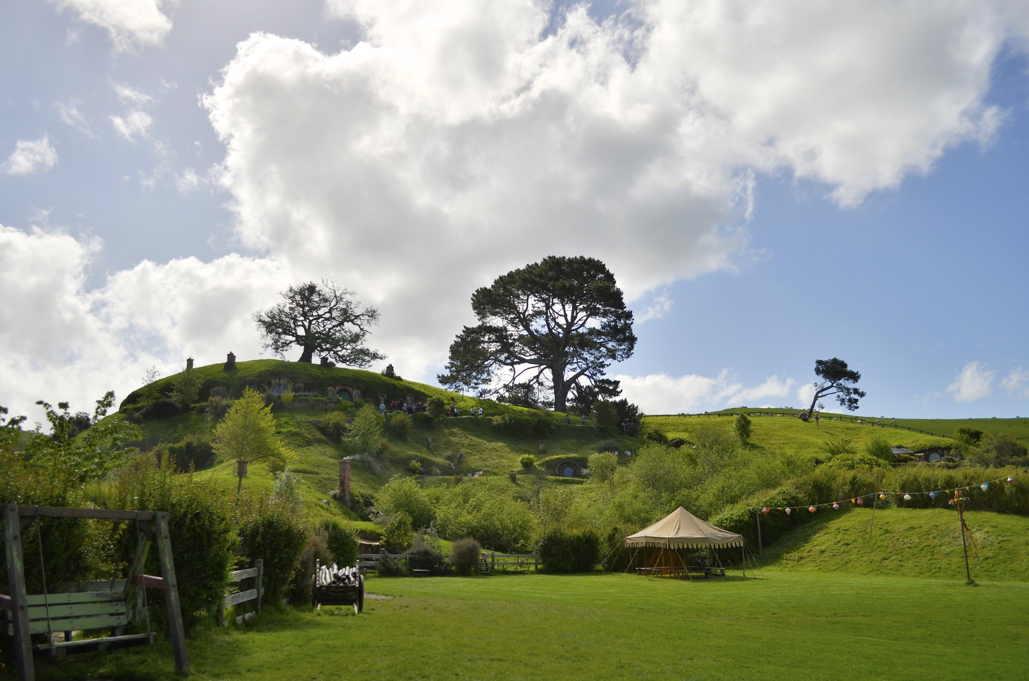 Hobbiton - party space