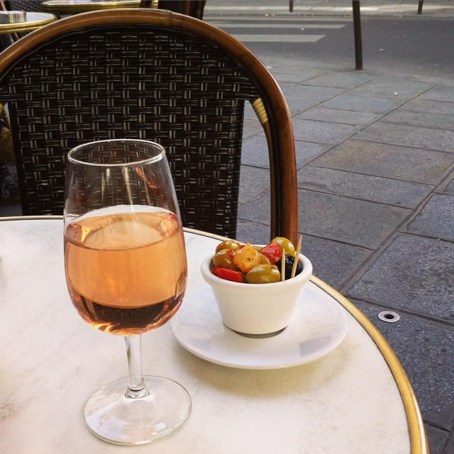 What I wish I were doing right now. A little too early perhaps... #lifeinFrance #apéro