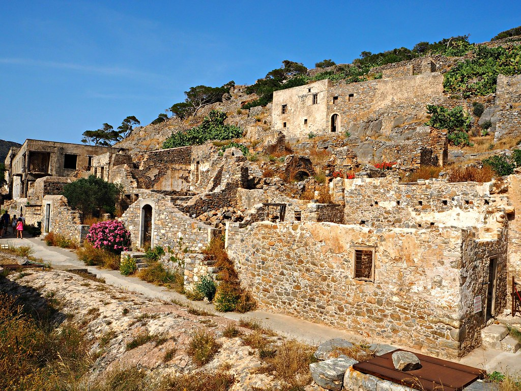 Spinalonga Island Crete Greece 5