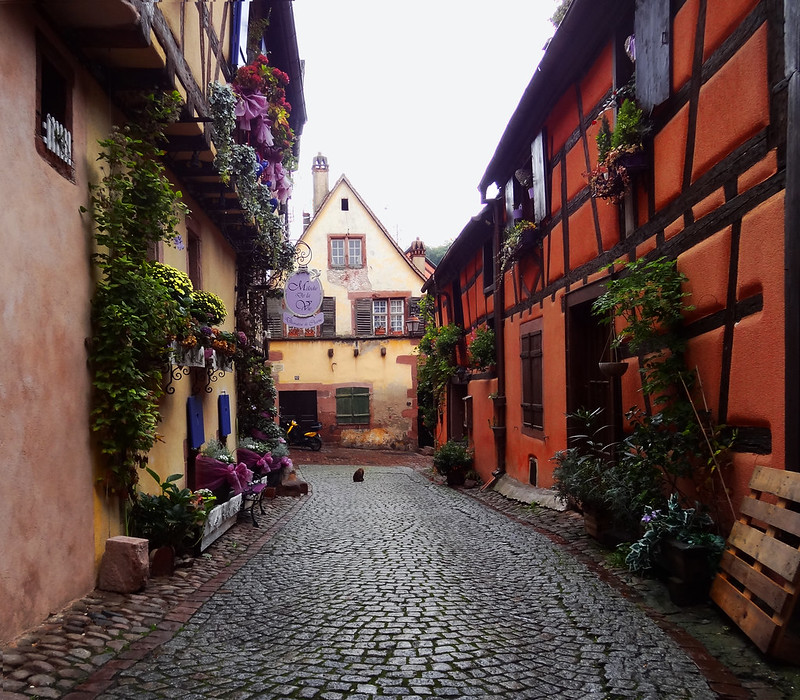 Il a plu à Riquewihr – It rained in Riquewihr
