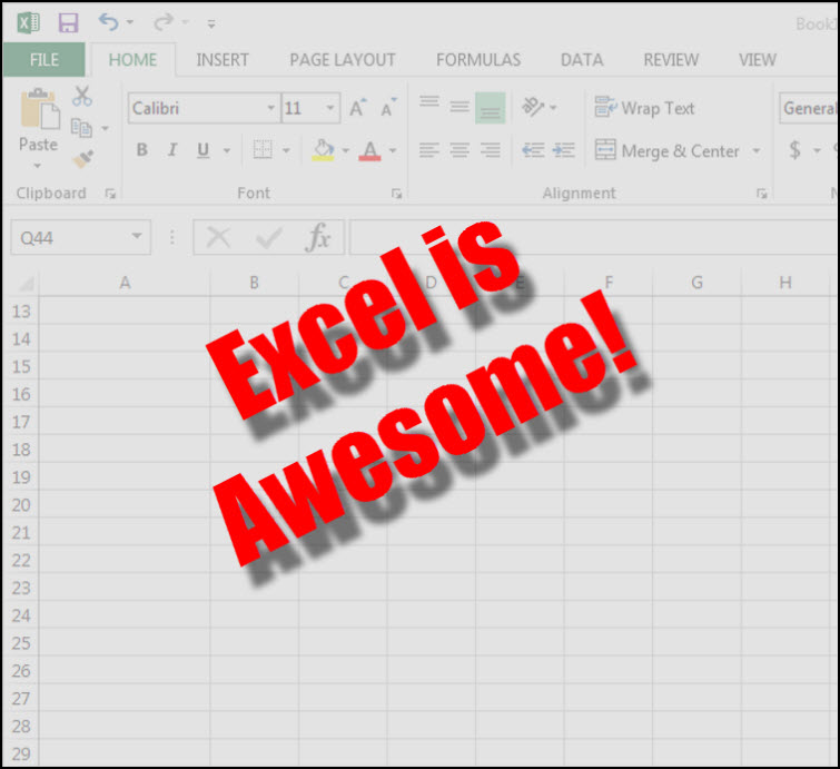 microsoft excel is awesome Diversify Your Work With Multiple Streams Of Income