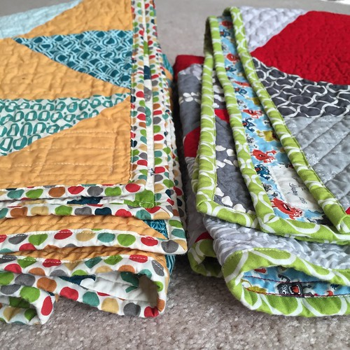 Twin Quilts folded
