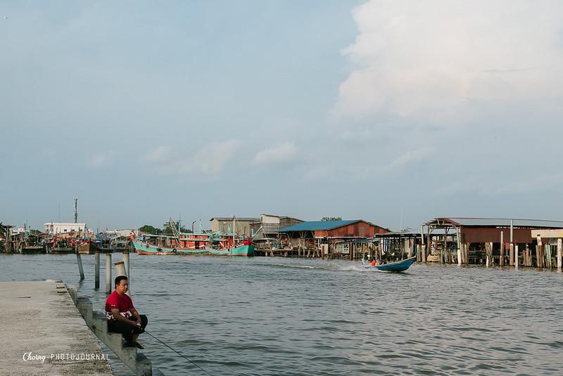 fishing boat sekinchan