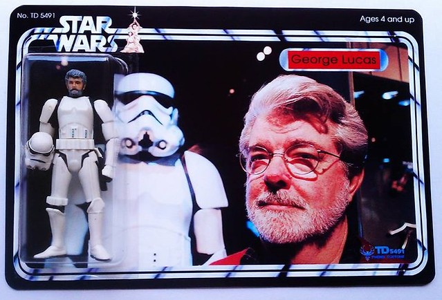Custom Star Wars action figures by TD 5491 Phenix Customs - George Lucas