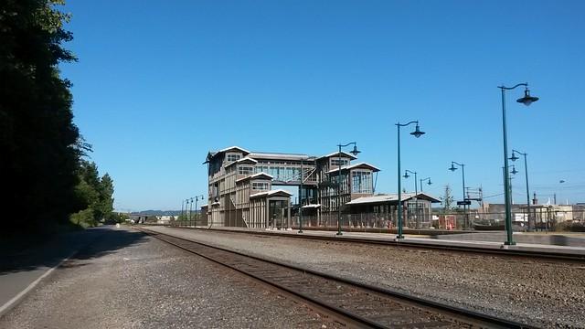 Mukilteo train station