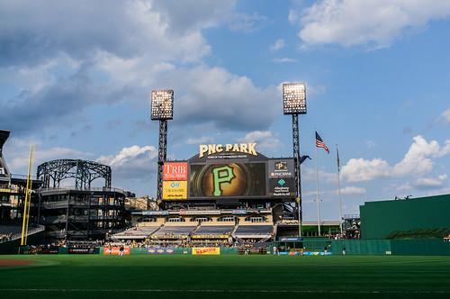 PNC Park on 6/9/15