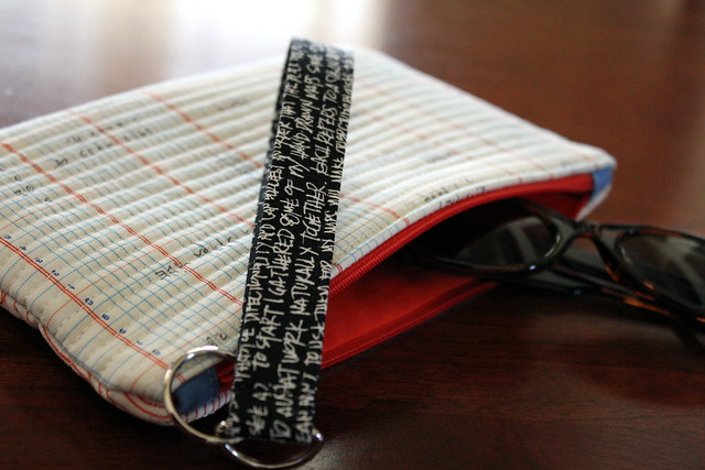 Zippered Pouch Back