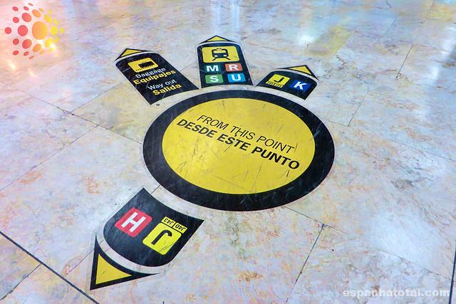 dicas sobre o aeroporto de Madri Barajas