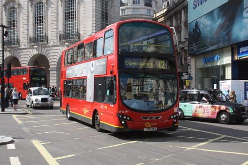 London Central WVL384 LX60DXS
