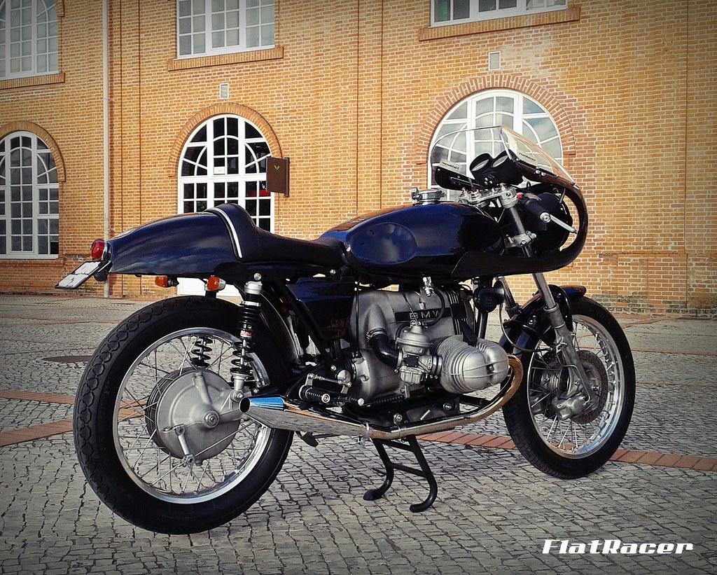 ... FlatRacer BMW R100 RT 1979 The Blaxer Cafe Racer - RH rear side | by FlatRacer