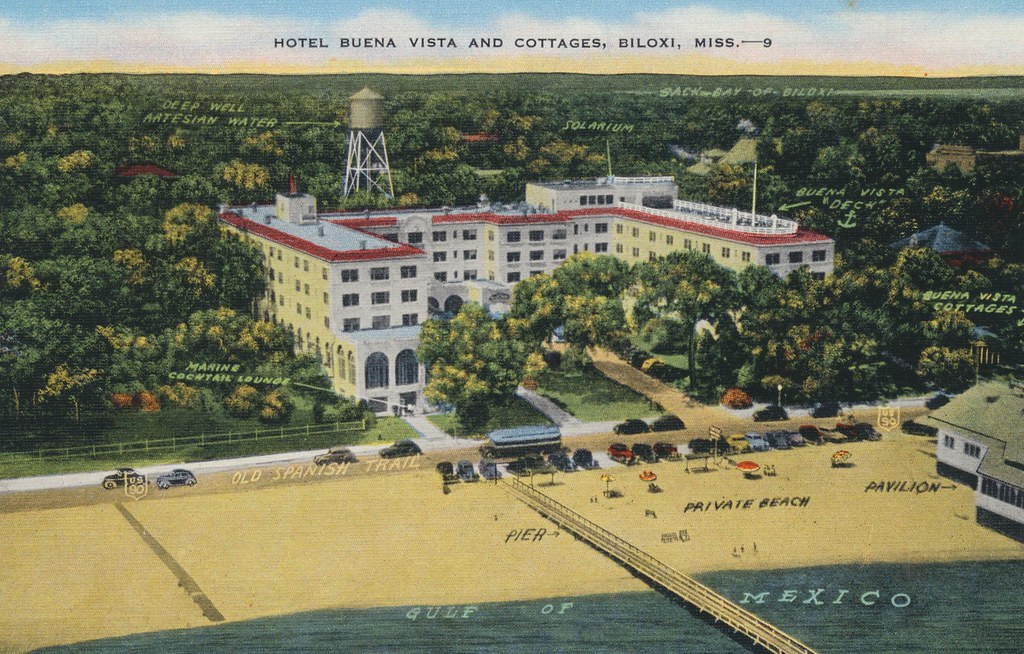 Hotel Buena Vista and Cottages - Biloxi, Mississippi