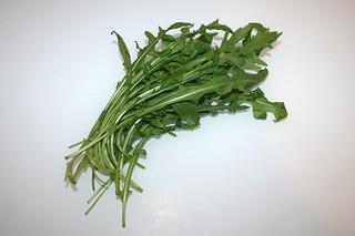 08 - Zutat Rucola / Ingredient rucola