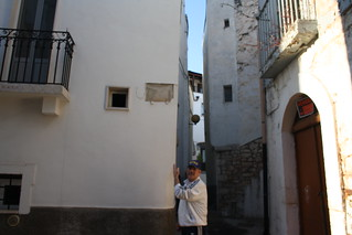 Tommaso Fanizza e la targa mancante