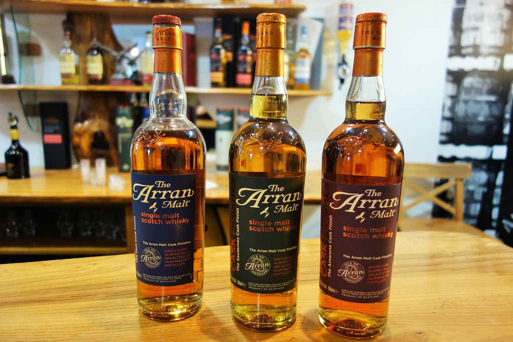 Isle of Arran Single Malts