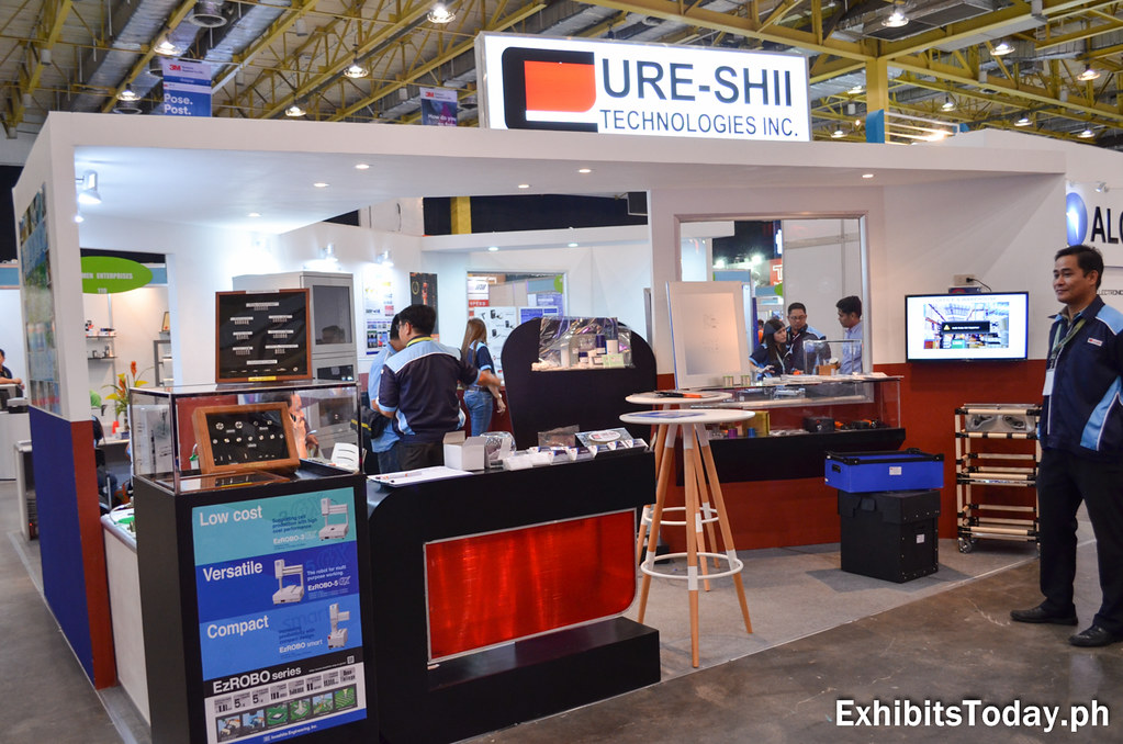 Cure-Shii Exhibit Booth