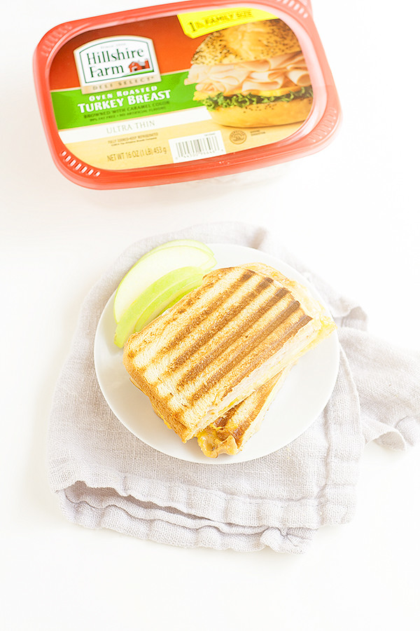 buffalo style turkey panini with apples and blue cheese ...