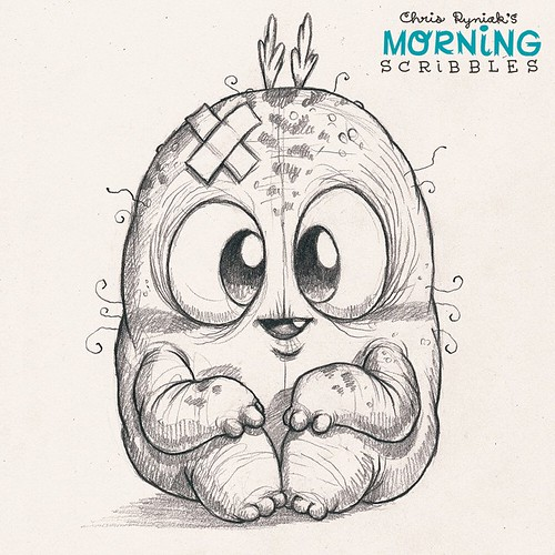Character Drawings Portraits And Monsters: Every Scar Has A Story. #morningscribbles