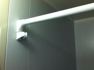 お風呂収納 突っ張り棒シャワー側