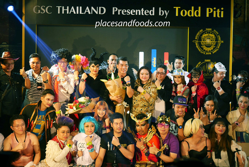 casio thailand gshock event group picture
