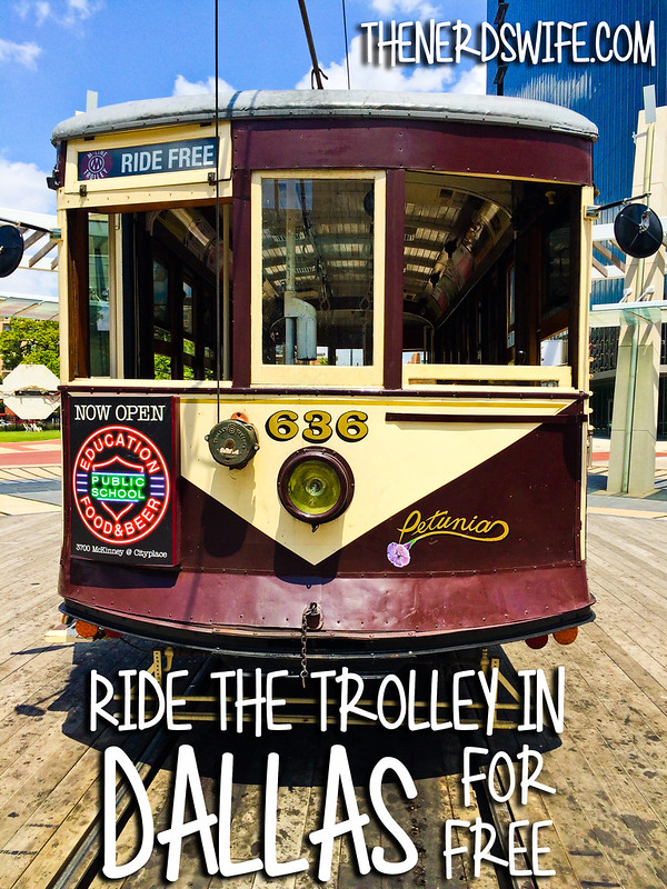 Ride the Trolley in Dallas for Free