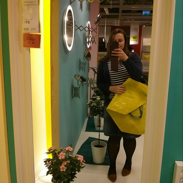 #mmm15 day 29 - stripy Coco top and a visit to IKEA on my way home