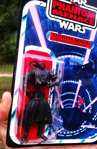 Custom Star Wars action figures by TD 5491 Phenix Customs - Darth Maul