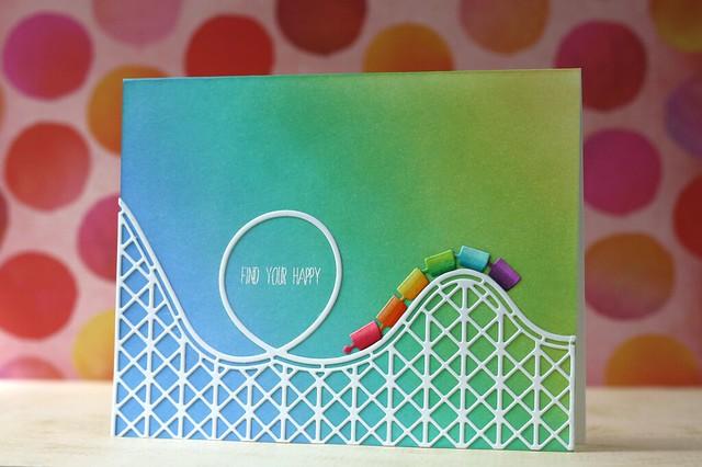 SSS-Rockin' Roller Coaster die