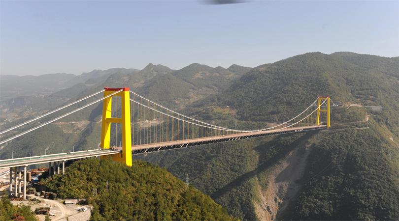 Sidu River Bridge, China