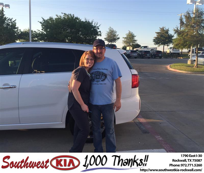 Southwest Kia Rockwall >> Southwest Kia Rockwall Customer Review Thank You Angela Wi