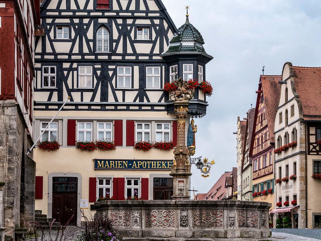 Fachwerk rothenburg ob der tauber achim 51 flickr for Fachwerk 3d