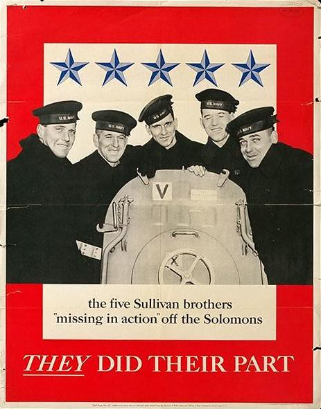 World War II Poster - They Did Their Part