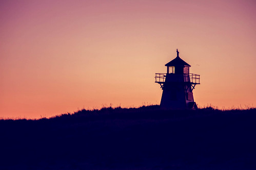 Covehead lighthouse, PEI | by melitacaulfield