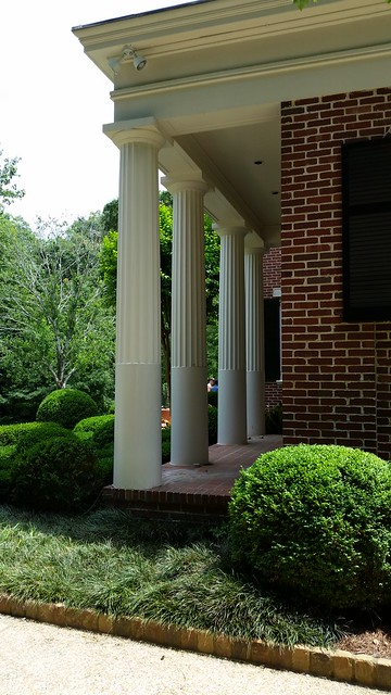 20150516_144020 2015-05-16 Neel Reid Andrews Drive Job 503 Alston House 1922-23 2/3 fluted Doric columns
