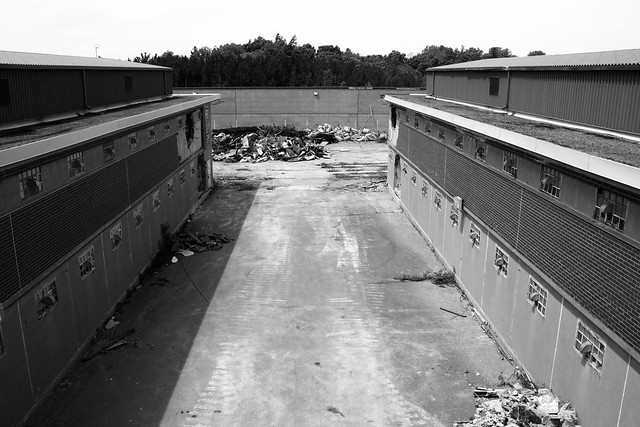 Millbrook Correctional Centre demolition