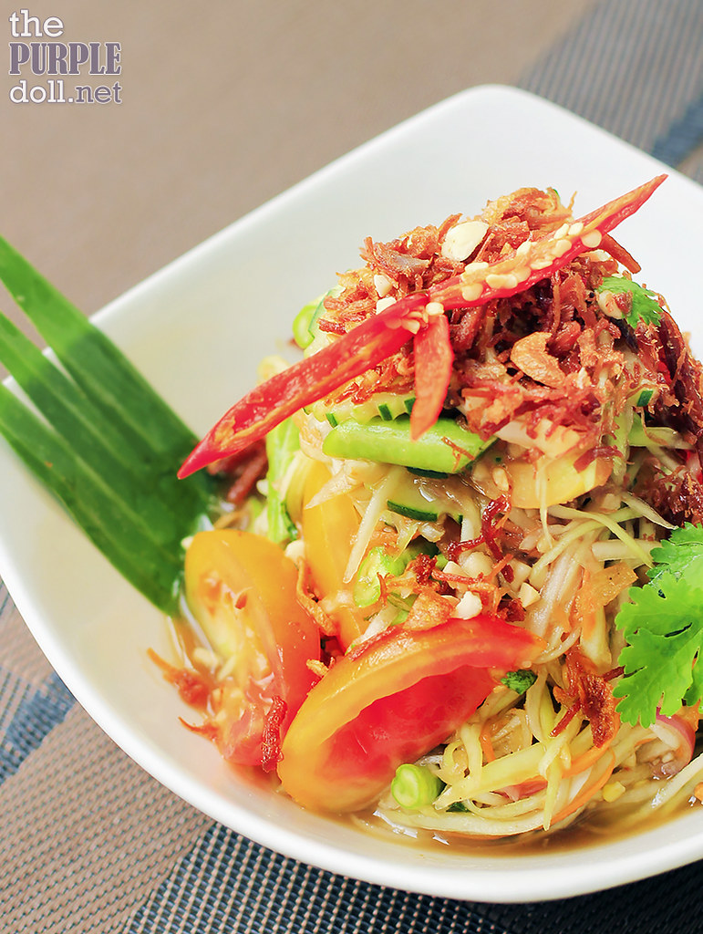 Som Tam Malakaw - Green Papaya Salad (P250)