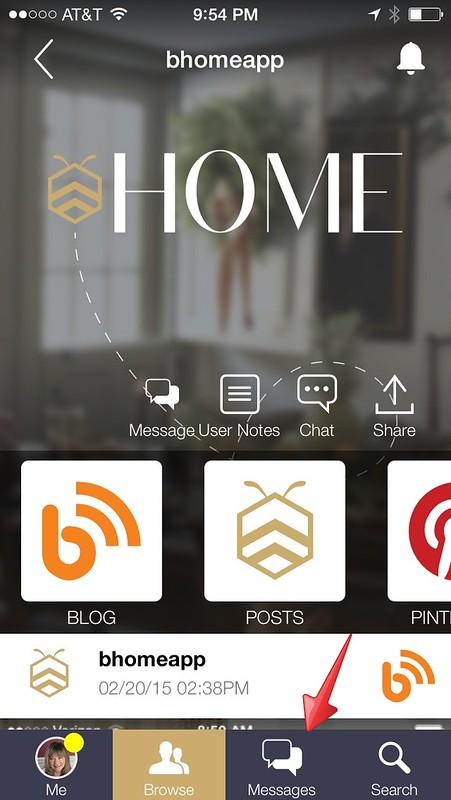 bHome Mobile App Screen shot-Housepitality Designs