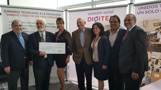 Digitel recaudó más de 14 millones de bolívares para Fe y Alegría