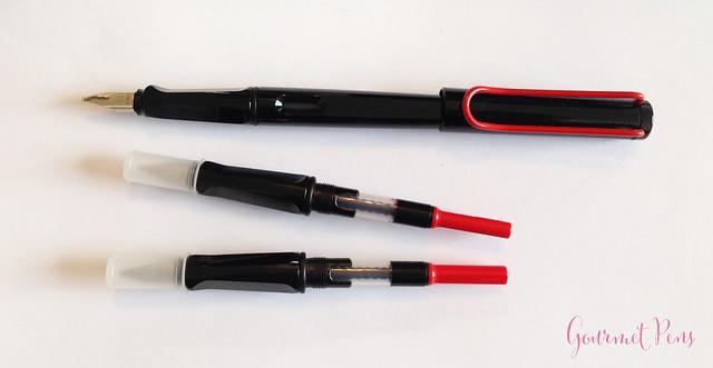Gourmet pens review lamy joy calligraphy set