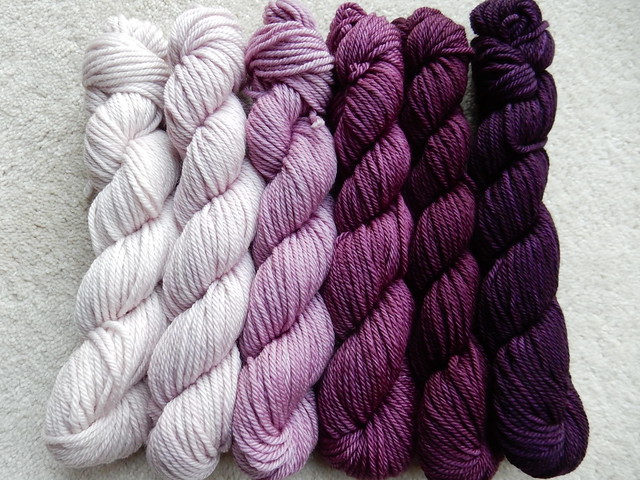 gradient yarn kit from Bobbie