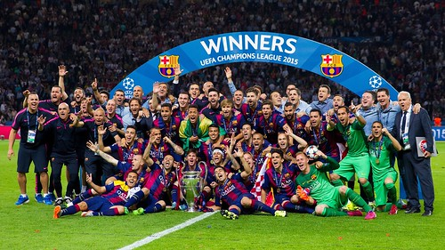 F.C. Barcelona Campeón de la Champions 2015