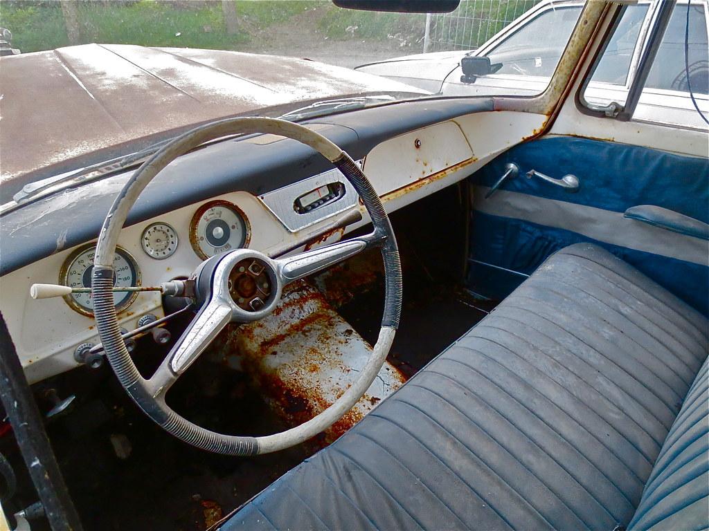 1961 Lark Interior | Sober interior, seen in a 1961 Studebak… | Flickr