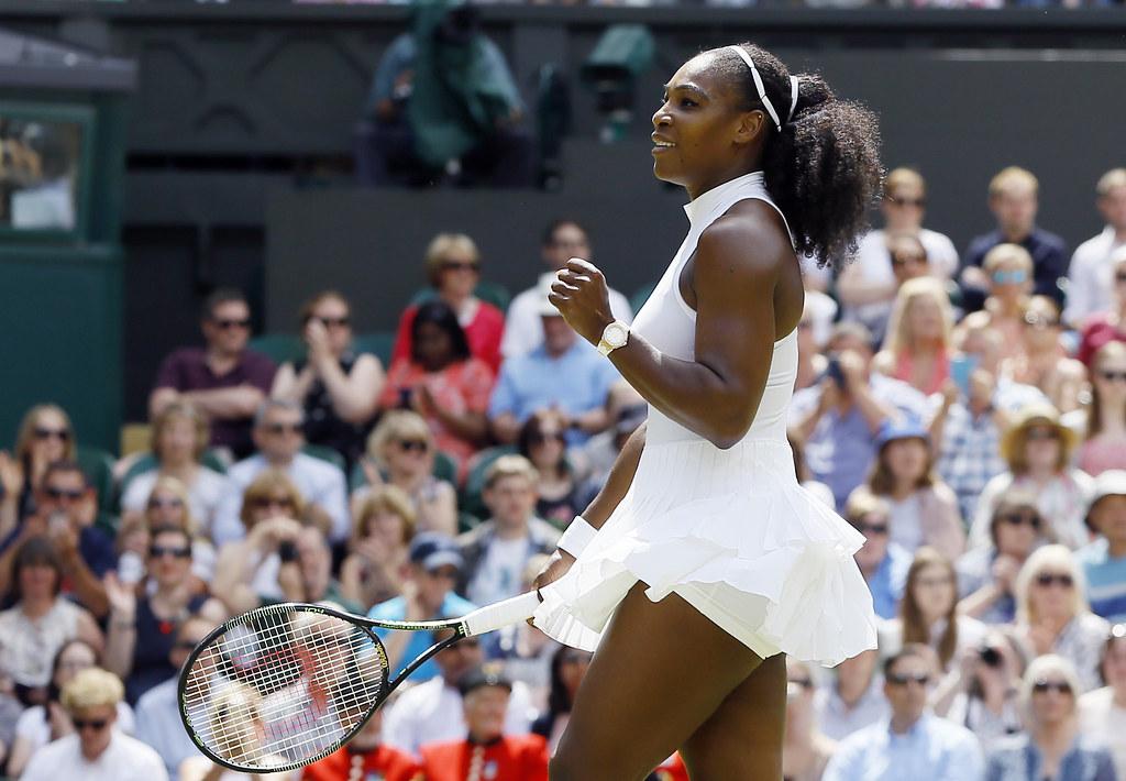 Serena Williams傳出訂婚喜訊。(達志影像資料照)