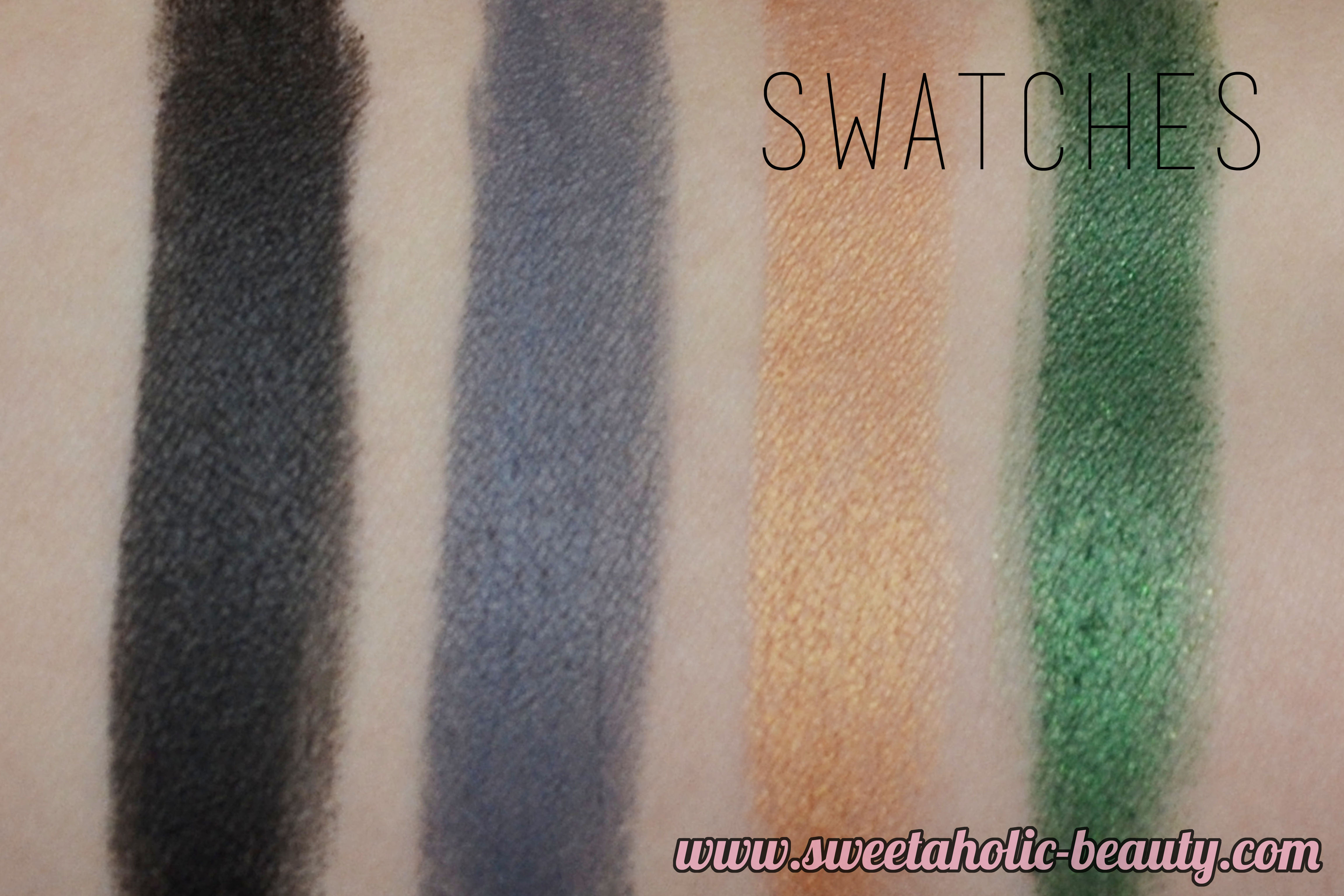 Shanghai Suzy Gothic Chic Collection Review and Swatches - Sweetaholic Beauty