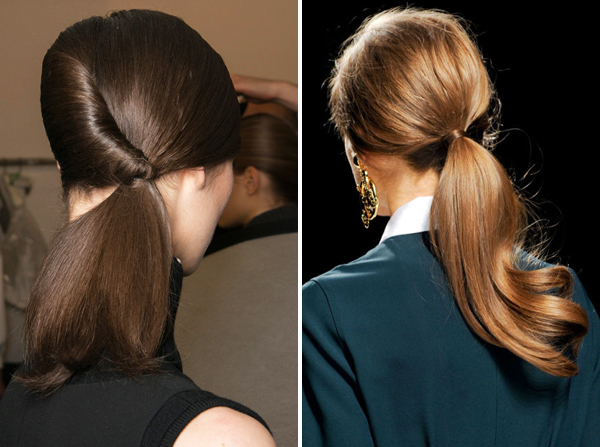 summer ponytail hairstyle