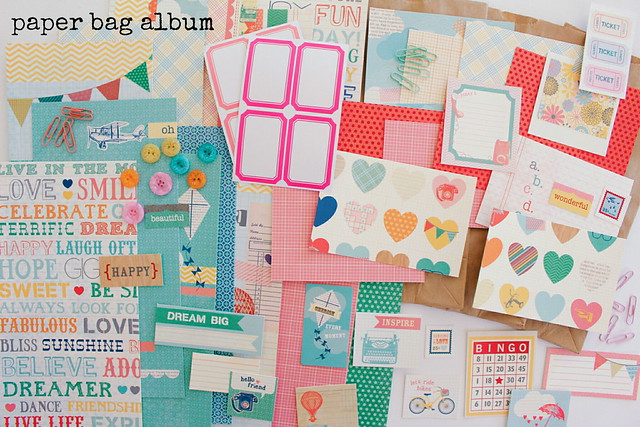 "workspace wednesday / ""sunday afternoon"" paper bag album"