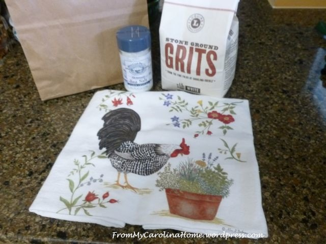 Salt Grits Towel