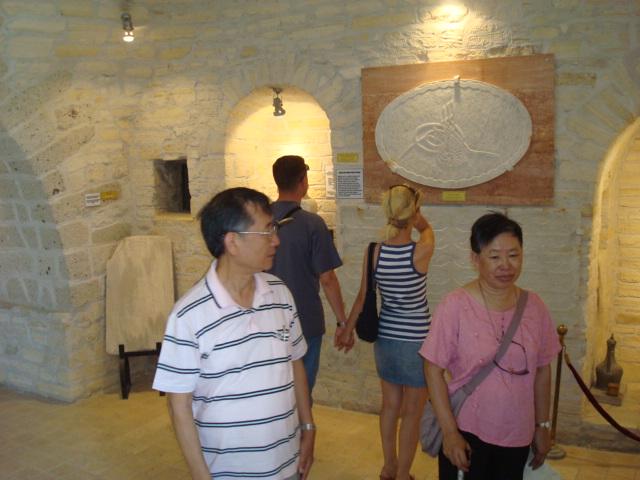 碉堡內部參觀